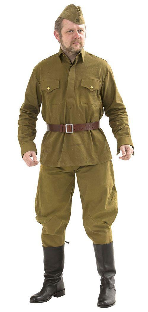 Soviet Red Army M35 EM uniform - WW2 Russian uniform