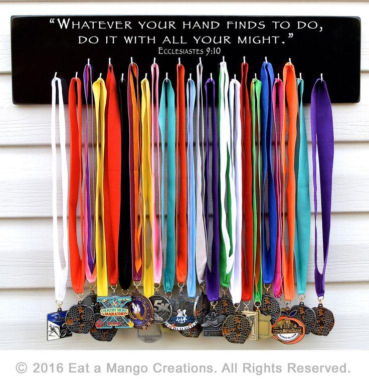 Sports Medal Holder,Display,Hanger,Rack,Running,Marathon,S4562,Whatever you 2016 #EataMangoCreations