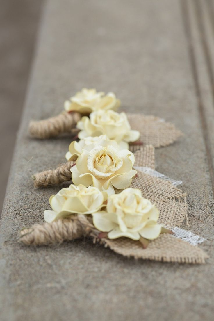 78 best images about 2014 romantic wedding ideas on for How to make hessian flowers