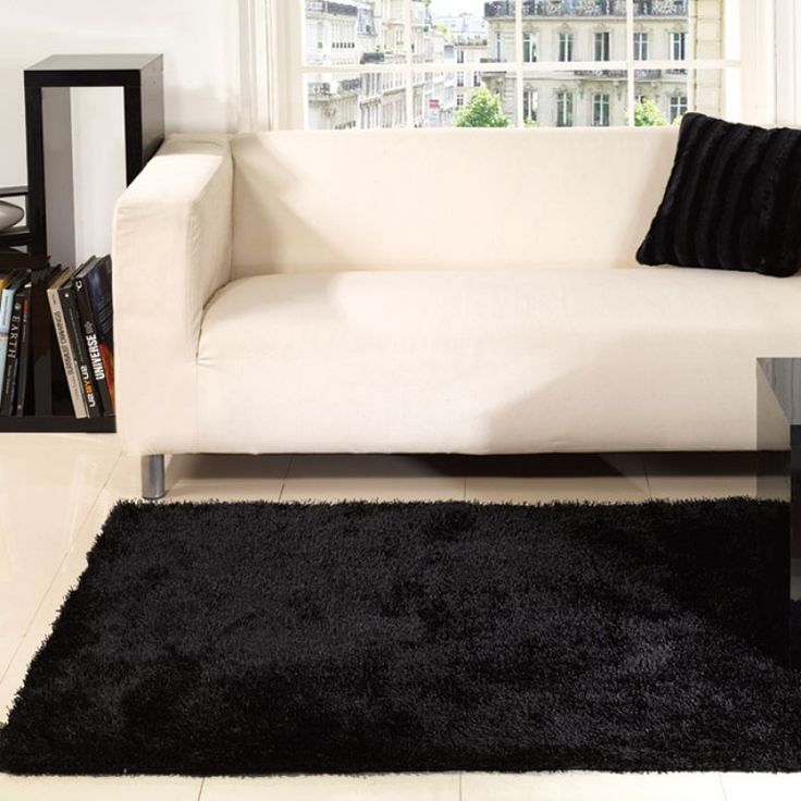 beautiful fluffy rugs for interior decoration soft comfortable modern black white fluffy rug inspiration offering stylish look for chic li - Fluffy Rugs
