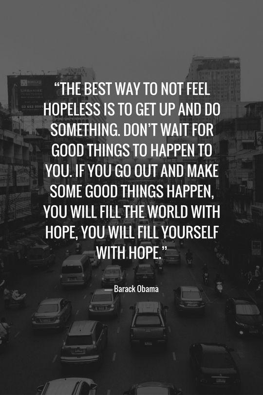 Quote about Volunteering - Barack Obama - Inspirational quotes - Motivation - volunteerism - give back