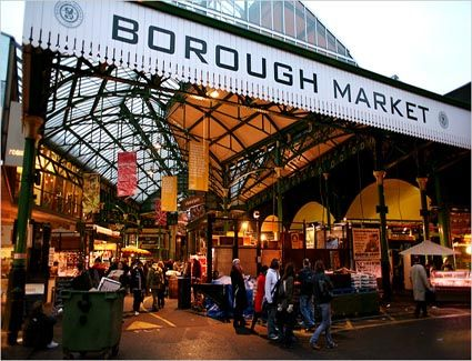 Borough Market, London. The best food market around. The whole area is steeped in history and is what Covent Garden was like pre-gentrification.