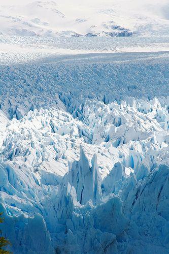 Ice Age - Perito Moreno Glacier, Los Glaciares National Park, Argentina.