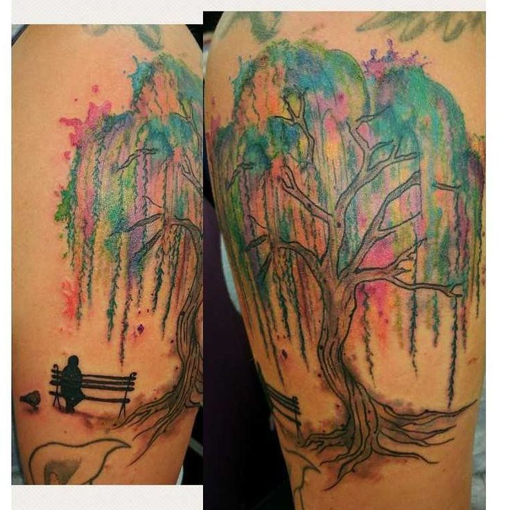 Image Result For Willow Tree Watercolor Tattoo Tree Tattoo Arm