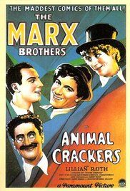 Marx Brothers Animal Crackers Full Movie. Mayhem and zaniness ensue when a valuable painting goes missing during a party in honor of famed African explorer Captain Spaulding.