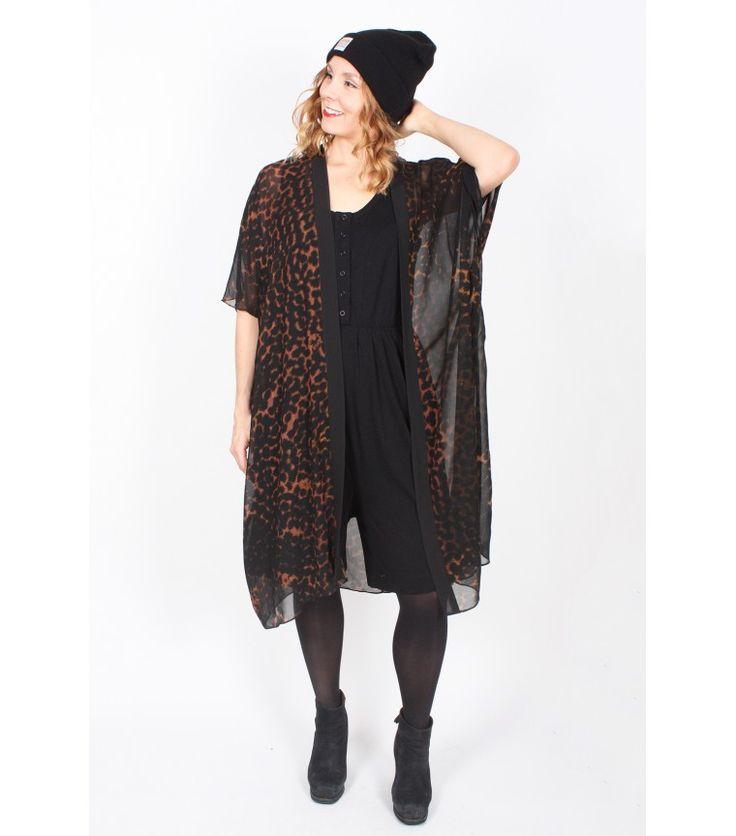 Dark Mesh Kimono, M - WST