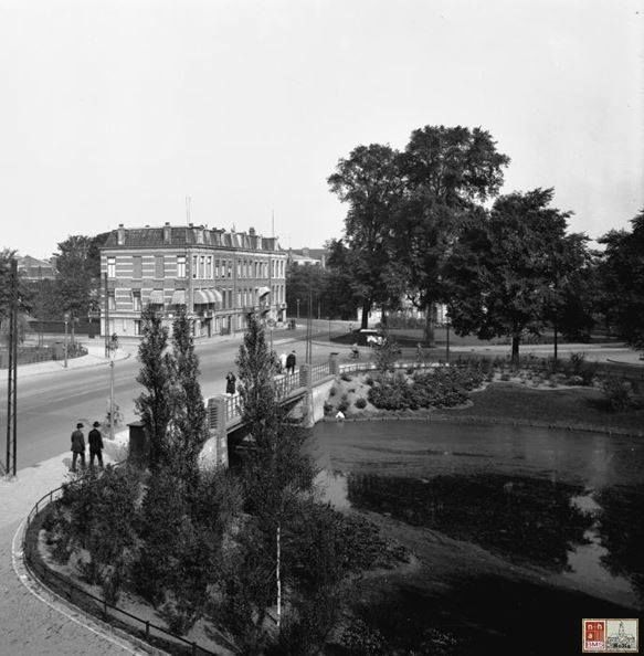 Frans Halsplein Haarlem (jaartal: 1945 tot 1950) - Foto's SERC