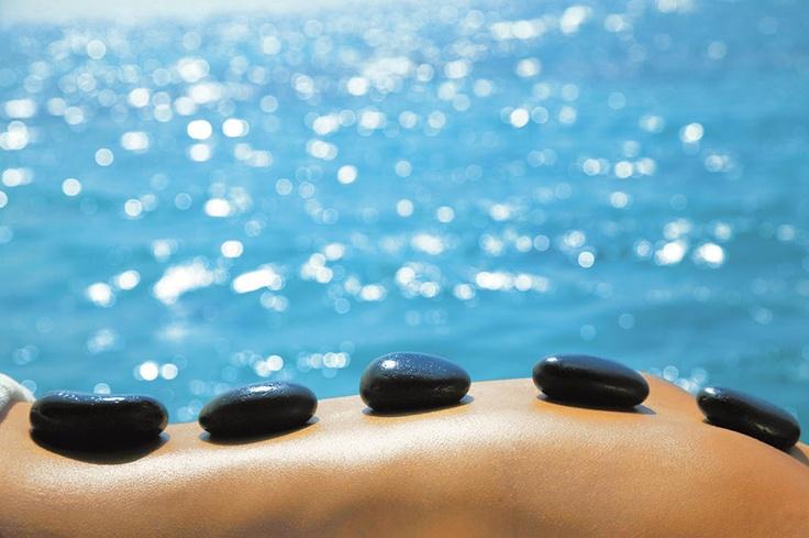 Six Senses Spa Hot Stone Treatment