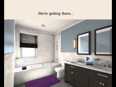 Gallery Website You can change your whole bathroom with some paint colorful accessories and a stunning shower curtain like one from Sand and Chi