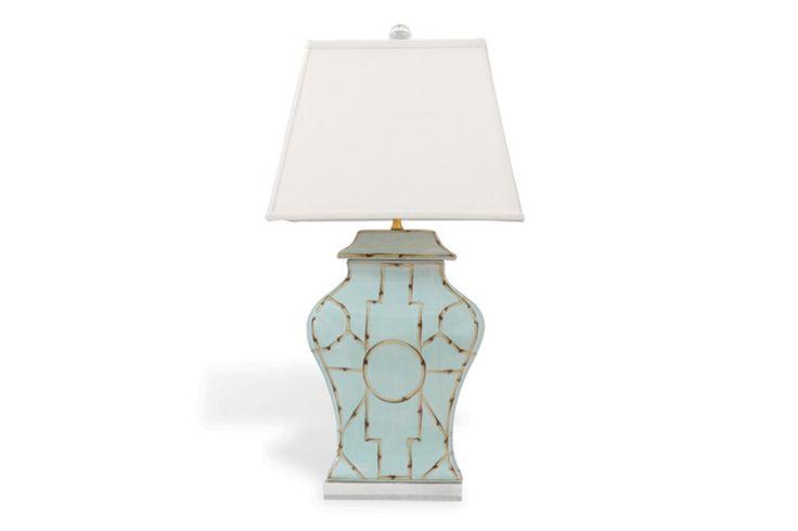 Baldwin Blue Lamp   Mitchell Williams