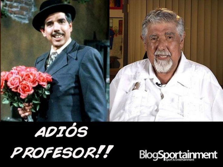 Un adiós al profesor Jirafales