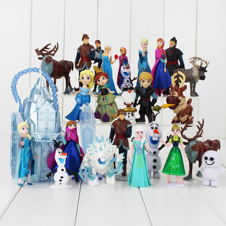 For Girl Gift my Anna Elsa Dolls New Band little Olaf Toys Movable Cartoon Dolls & Accessories poni Birthday gift Toy Figures #Affiliate