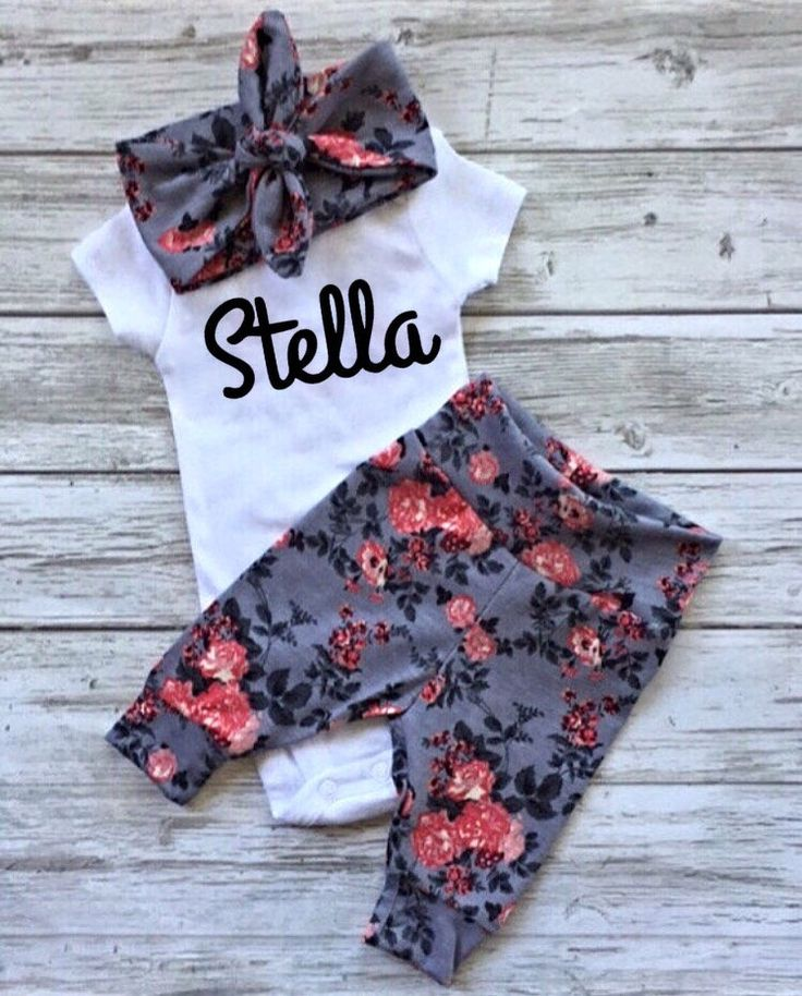 A personal favorite from my Etsy shop https://www.etsy.com/ca/listing/499299278/baby-girl-going-home-outfit-baby-boy