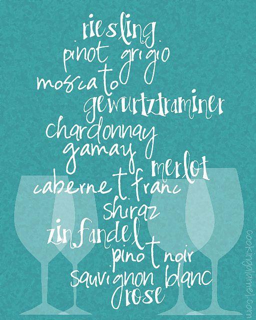 Wine Print | cooking ala mel by cookingalamel, via Flickr
