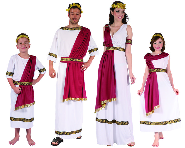 Familia de Romanos #disfraces #carnaval #disfracesparagrupos
