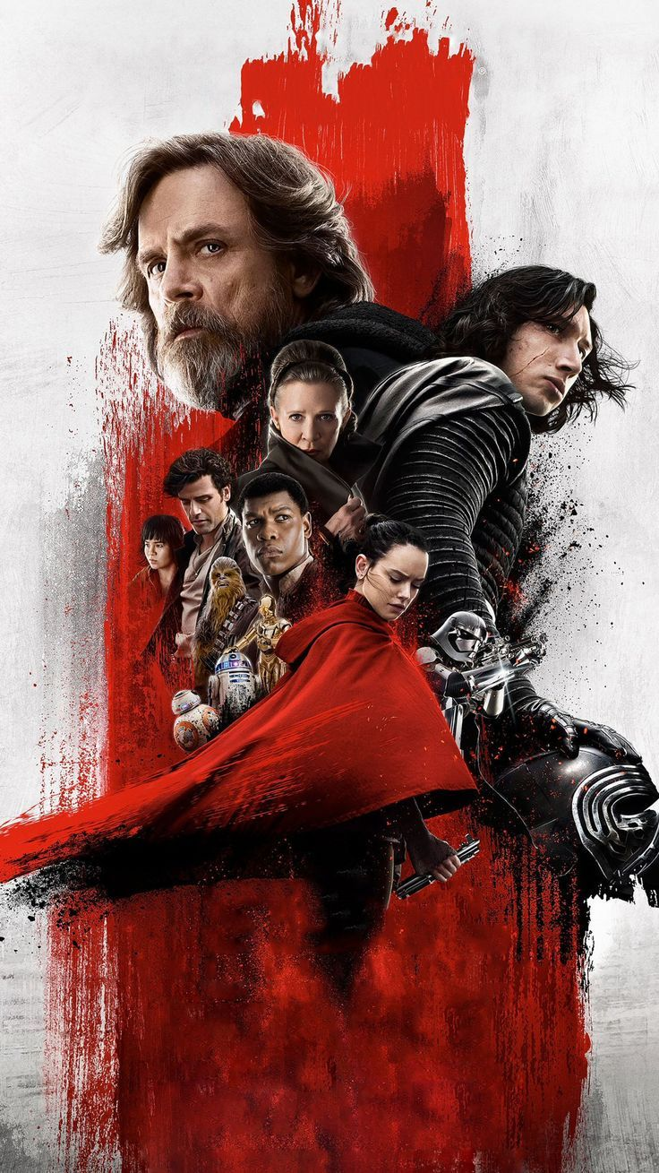 Star Wars The Last Jedi 2017 Phone Wallpaper Star Wars Pictures Movie Wallpapers Star Wars