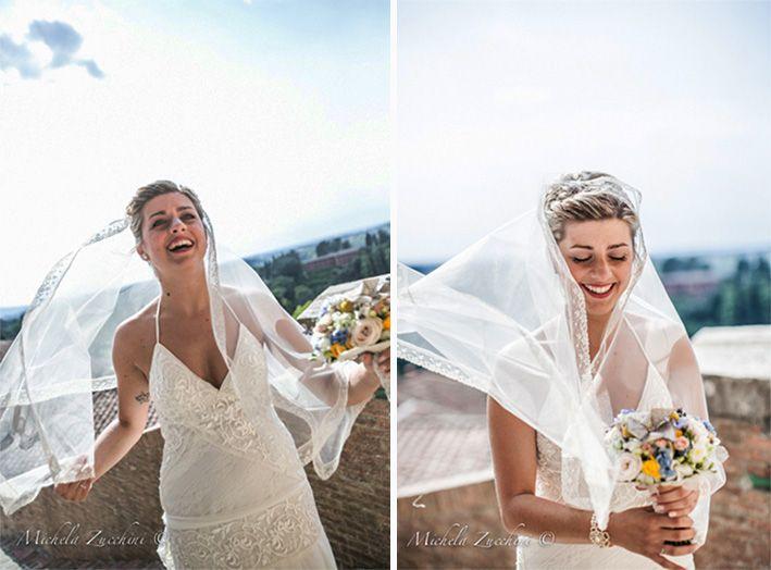 YolanCris |Lunia del Vivo se casa en la Toscana Italiana con el vestido Kenya de la Colección Ibiza 2013  #realbrides #weddingdress #bridalgown #hautecouture #handmade #sposa #Italy #novias #hapiness #beautifulbrides