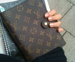 ☮✿★ Louis Vuitton Filofax ✝☯★☮--OOHH I need one of these!