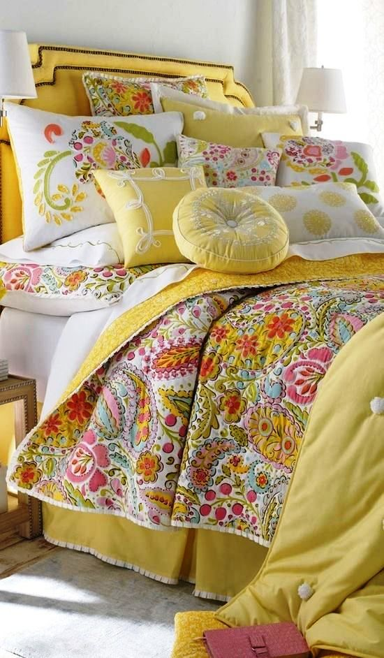 I just Love these color fabric combinations!