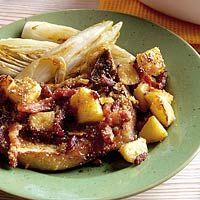 Recept - Karbonade met appel uit de oven - Allerhande