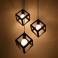 E27 17CM Line 1M Creative Contemporary And Contracted Wrought Iron Chandelier Single Head Led Lamps Led – AUD $ 205.89
