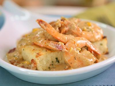 Try this recipe for Shrimp and Smoked Cheddar Grit Cakes from Kimberly's Simply Southern featured on GAC!