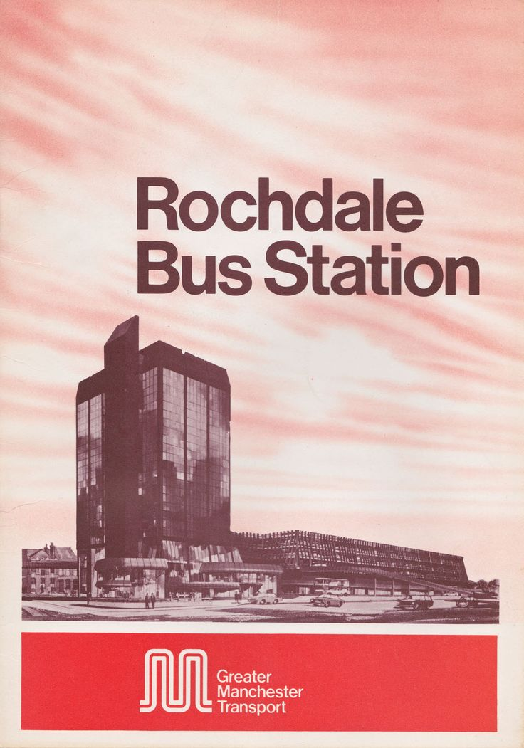 Rochdale Bus Station brochure, 1978 (via c86)