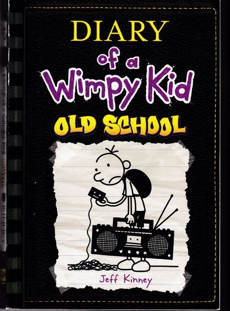 The latest Diary of a Wimpy Kid book by Jeff Kinney titled Old School is very sought after!
