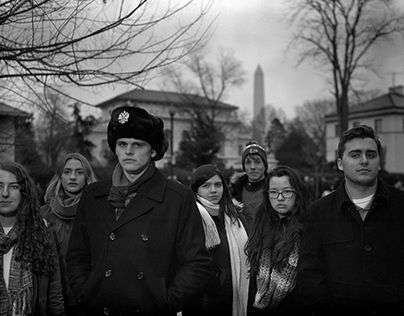 """Check out new work on my @Behance portfolio: """"Inauguration & Womens March DC 4x5 bw"""" http://be.net/gallery/48343875/Inauguration-Womens-March-DC-4x5-bw"""