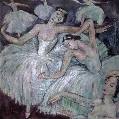 'Ballet Dancers' (1943) by South African painter Irma Stern (1894-1966). via 'Figuration Feminine'