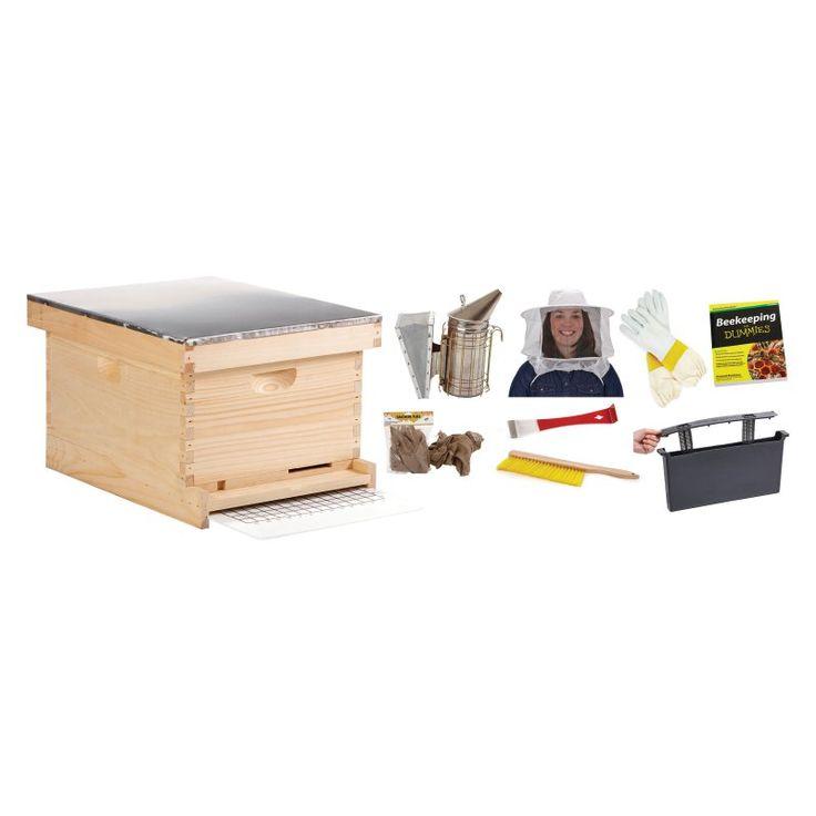 Miller Manufacturing Inc Beginner Bee Hive Kit - 052855