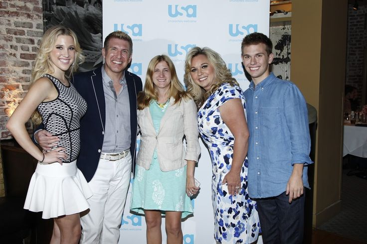 Brunch with the cast of Chrisley Knows Best
