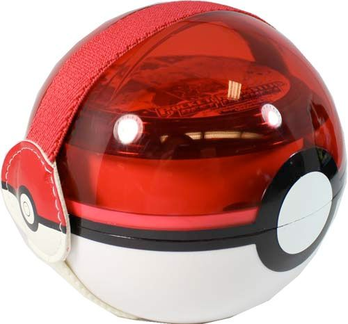pokeball bento box. a bit small, but come on, it's a pokeball bento box! ^.^