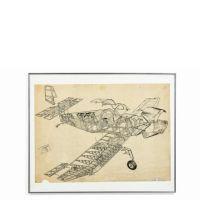 Jean PERARD  Ecorché - projet pour Aviation Magazine