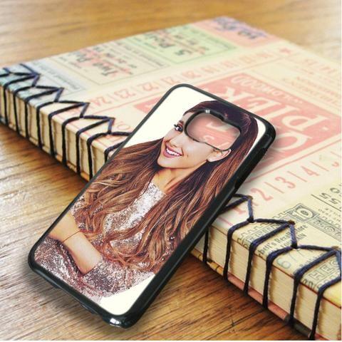 Ariana Grande Cute Smile Singer Samsung Galaxy S6 Edge Case