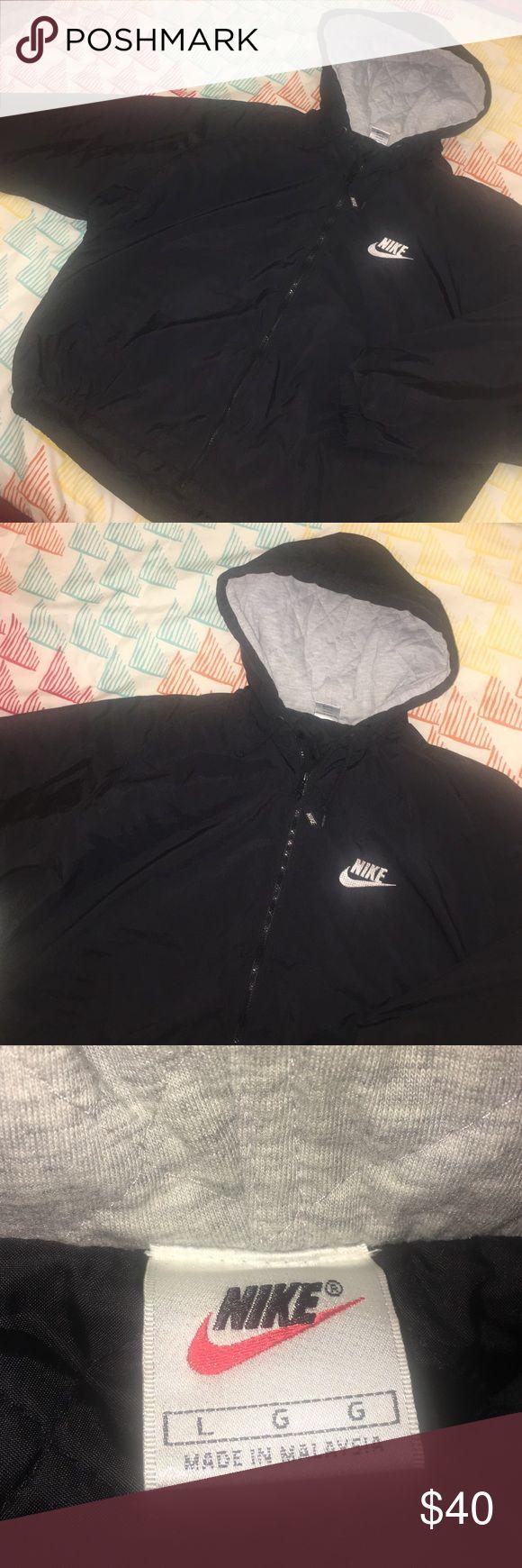 90s Nike Winter Jacket x Vintage x Quilted x Hood Size Large - EUC Nike Jackets & Coats