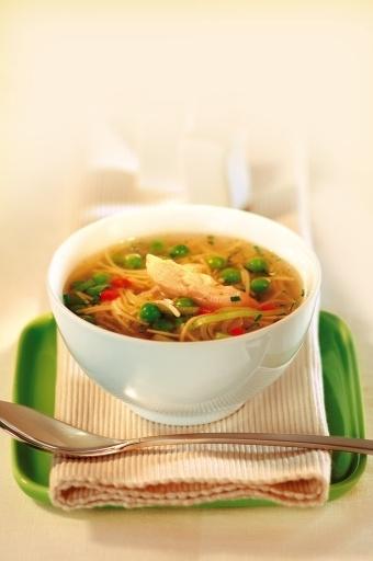 Zupa z zielonym groszkiem/ Green beans soup, www.winiary.pl
