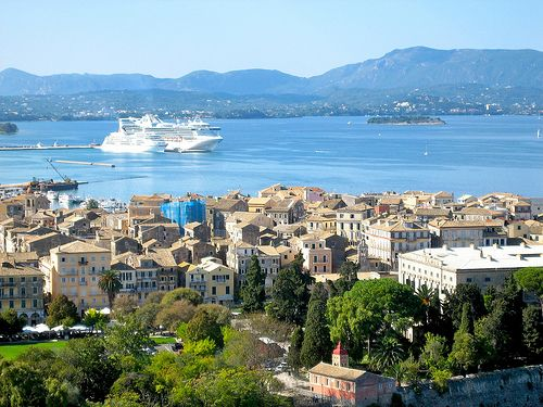 Planning a vacation to #Greece?  Check out today's blog post for a #travel guide to the Greek Island of #Corfu.