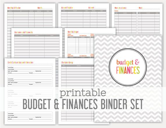 79 best Organization Printables images on Pinterest