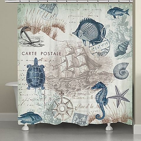 Best 25 Nautical Shower Curtains Ideas On Pinterest