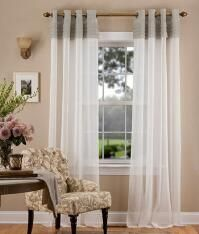 Portico Pleat Grommet Top Curtains Design