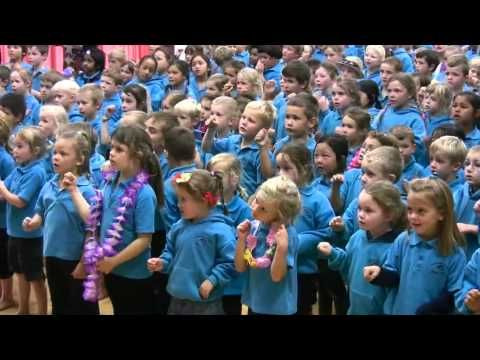 "Hurupaki Primary School in Whangarei singing ""Islands"" as a part of Hook Line and Singalong"