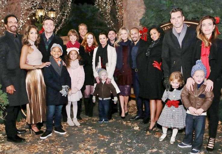 From all of us at The Young and the Restless, have a safe and wonderful holiday! #YR #HappyHolidays ⛄️
