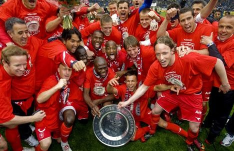 FC Twente Enschede - champions 2009-2010