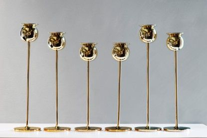 // The Tulip Candlestick design Pierre Forssell • Skultuna