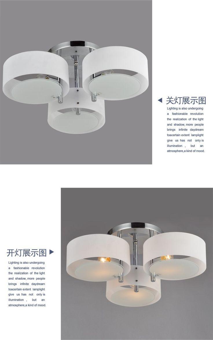 Aliexpress com acheter acrylique plafonnier moderne brèves lumières du salon lampe chambre restaurant lampe