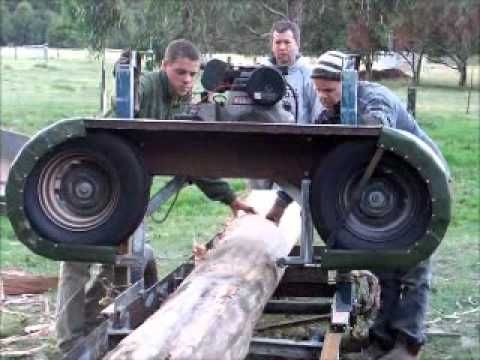 how to build a sawmill edger