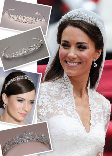 Top piece is EKWA  http://www.brides.com/blogs/aisle-say/2011/04/kate-middleton-wedding-tiara.html