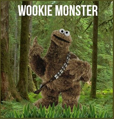 He likes his cookies chewy.