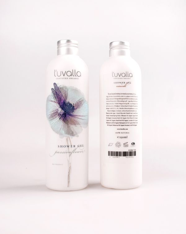 l'uvalla cosmetic package * redesign by Boglárka Nádi, via Behance